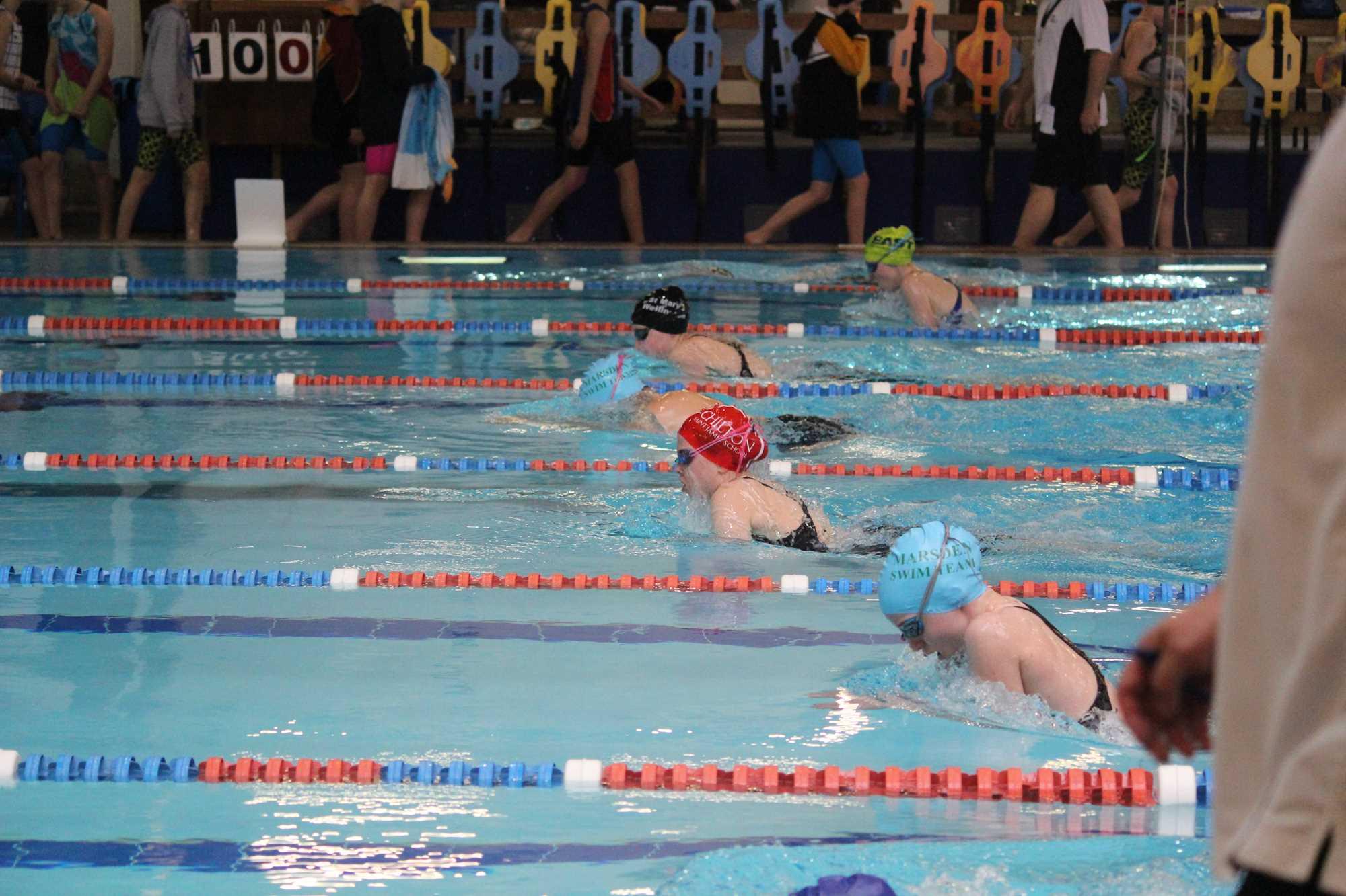 College Sport Wellington Individual Swim Meet