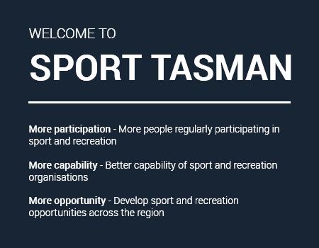 sport tasman home