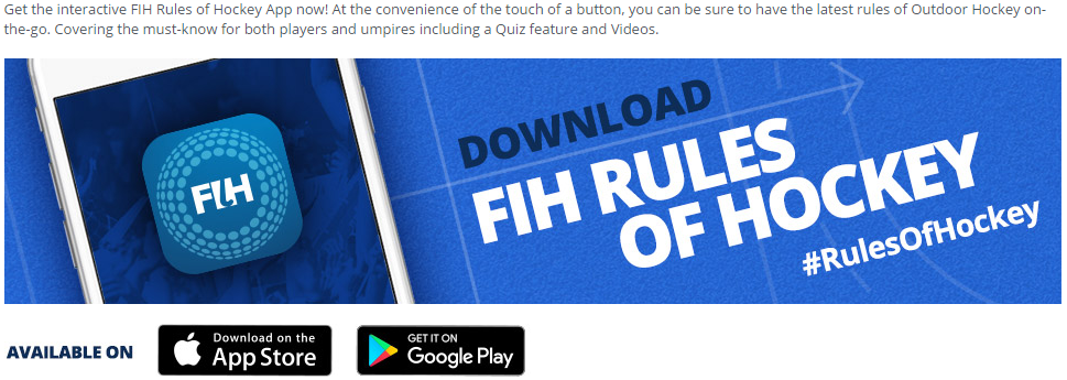 Rules of Hockey App