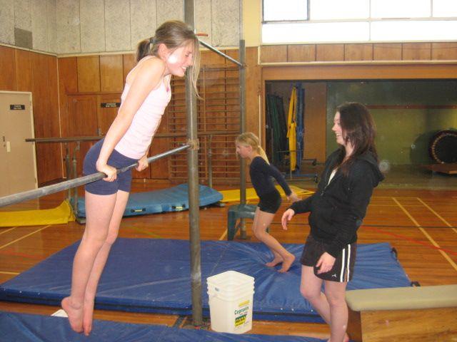 Black teen gymnastic pictures