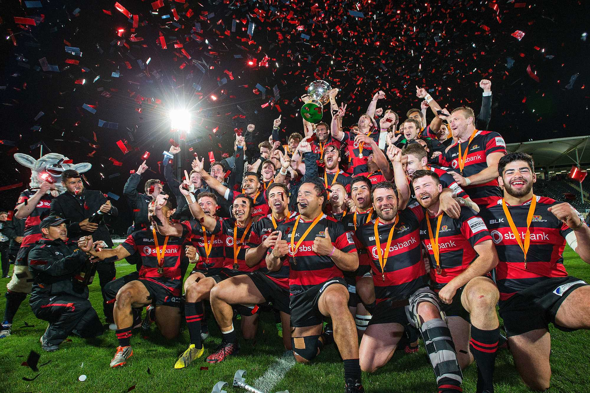 CANTERBURY CROWNED MITRE 10 CUP CHAMPIONS!