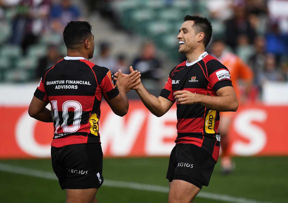 29 Sept 2017 - Canterbury team named for Ranfurly Shield clash against Waikato