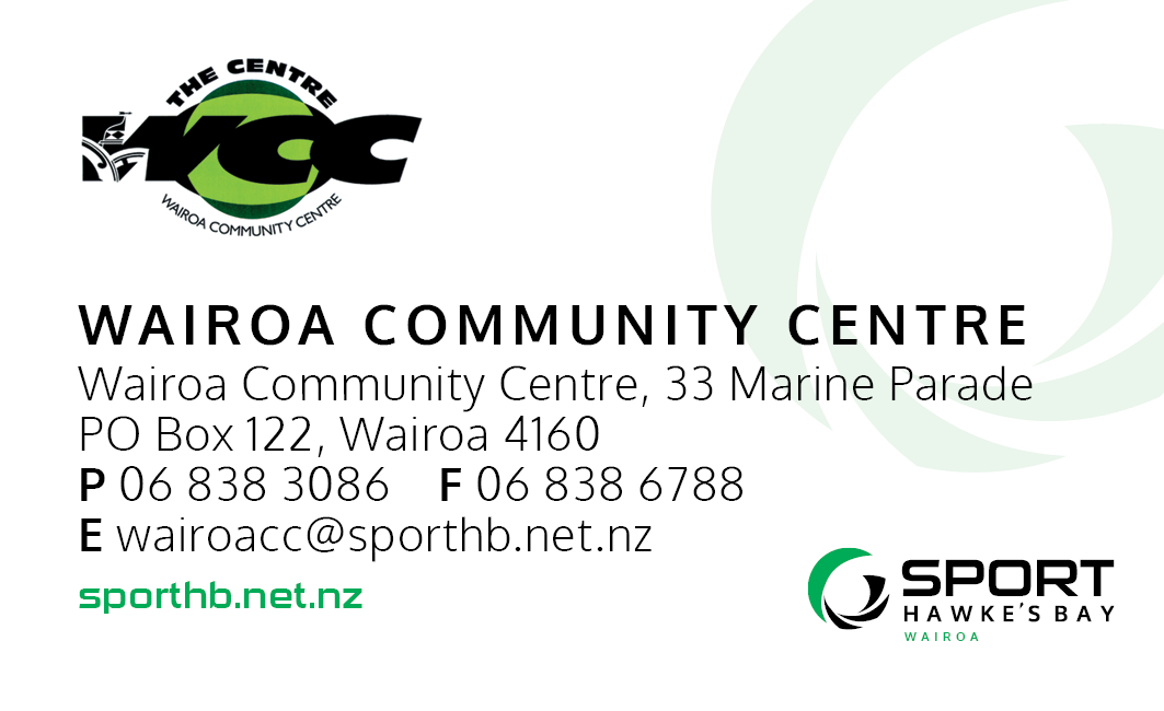Sport Hawke's Bay Wairoa - Home