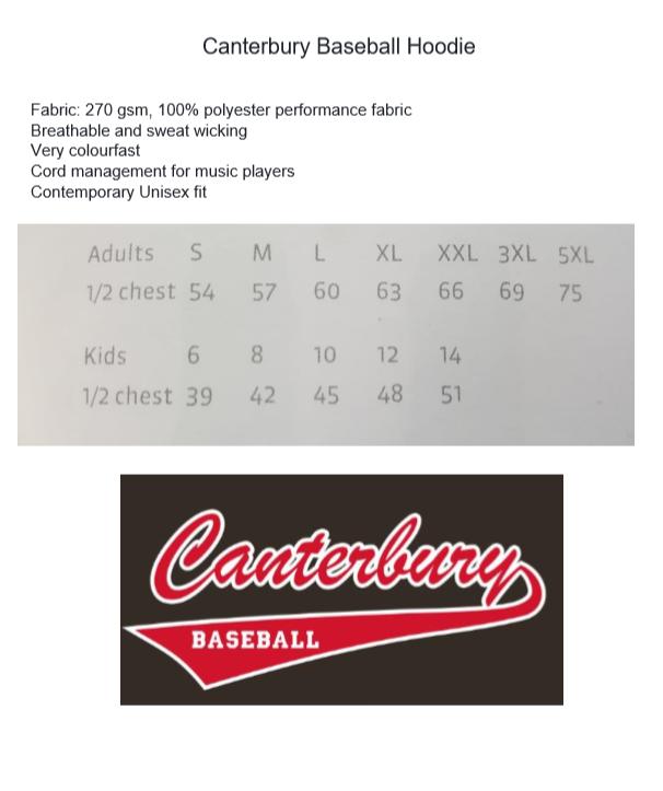 Canterbury Baseball Association - Supporters Gear