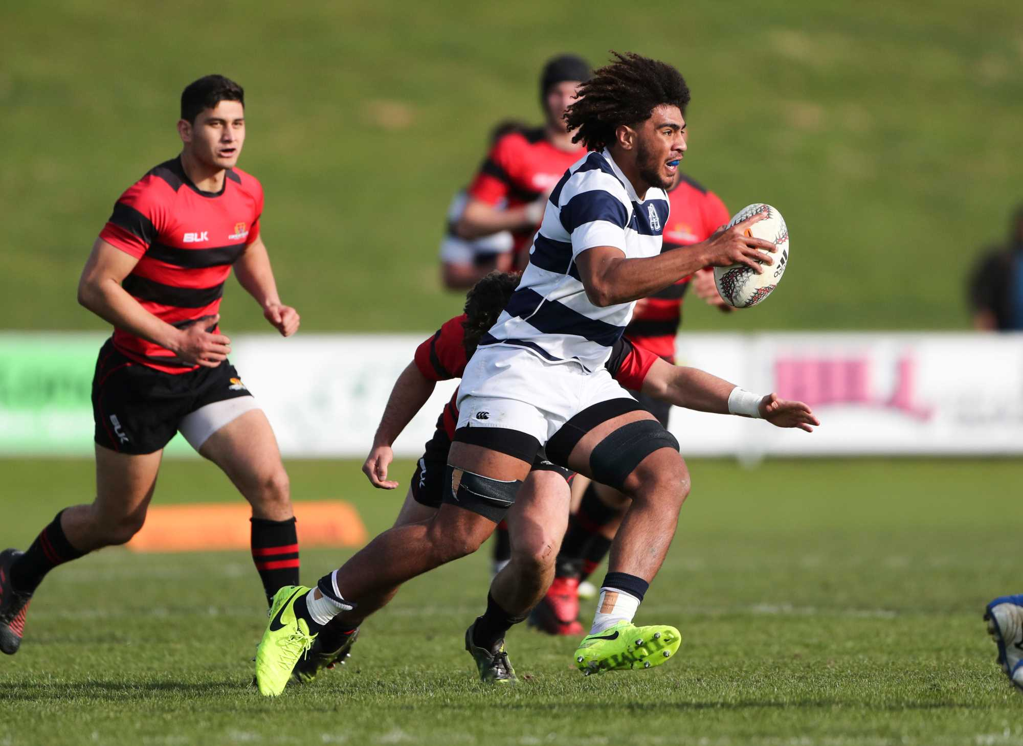 Auckland's next generation to suit up in black for Oceania tournament