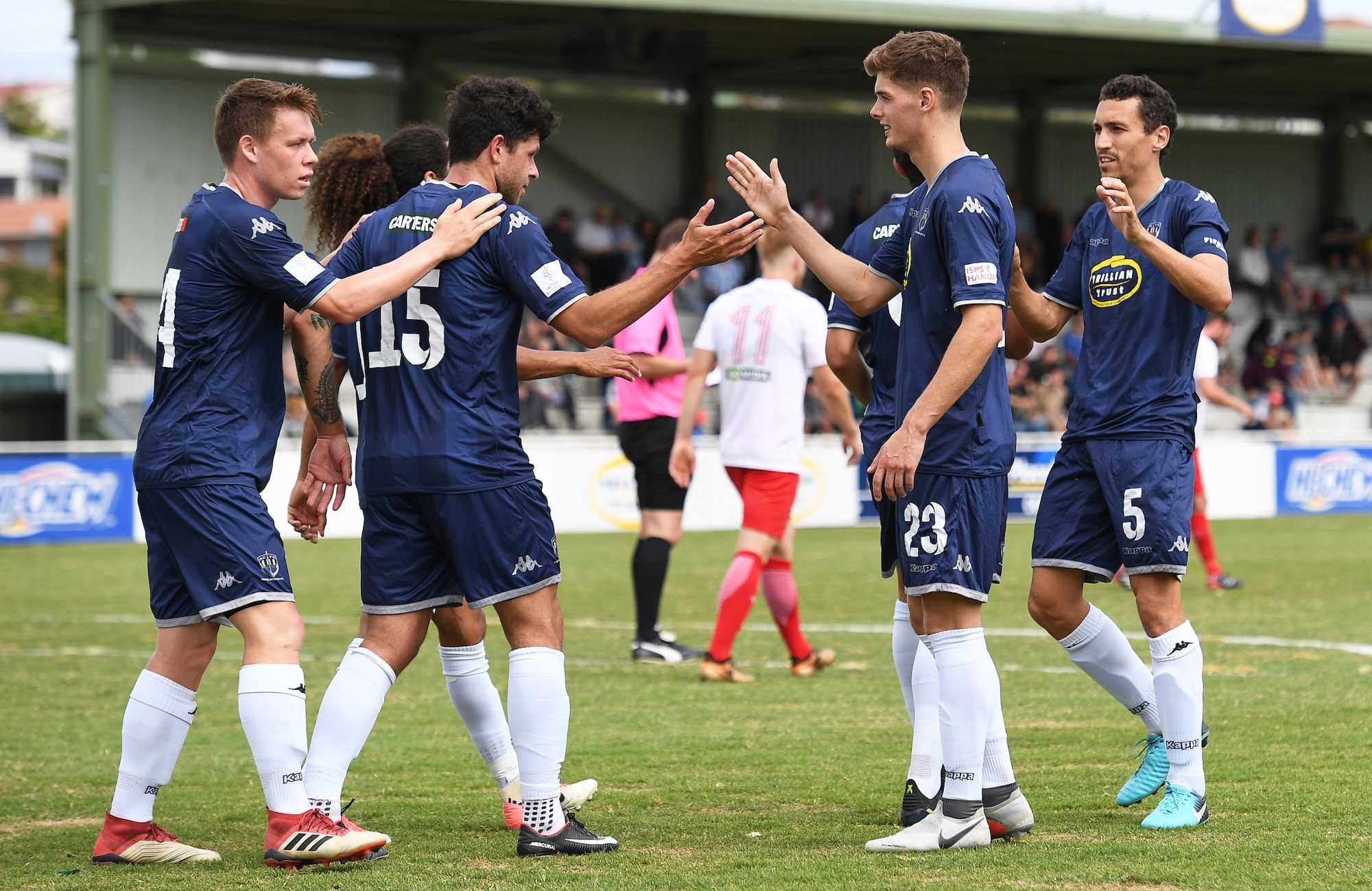 Navy Blues Go Clear At The Top