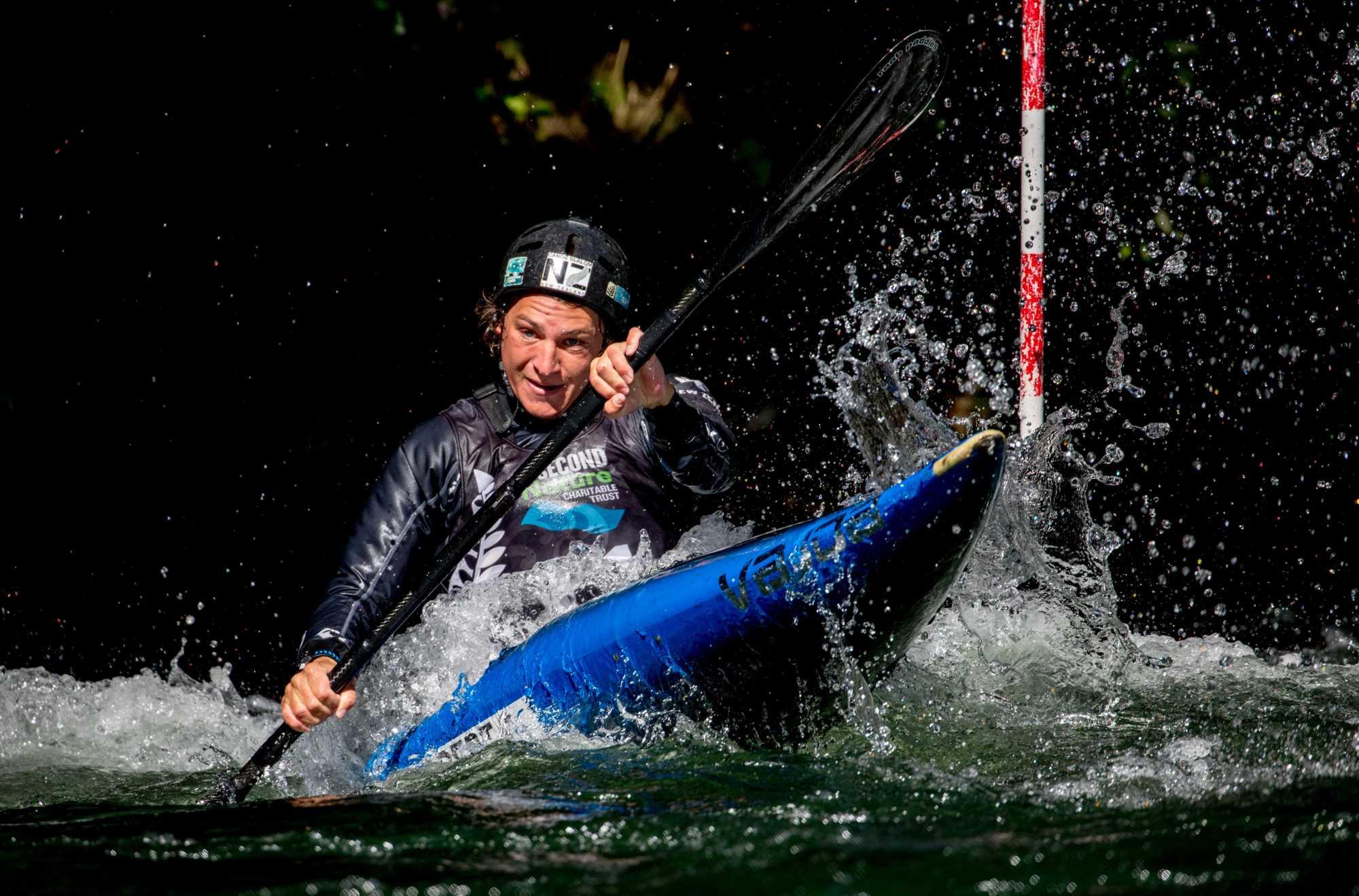 Kiwi kayaker creates World Cup history