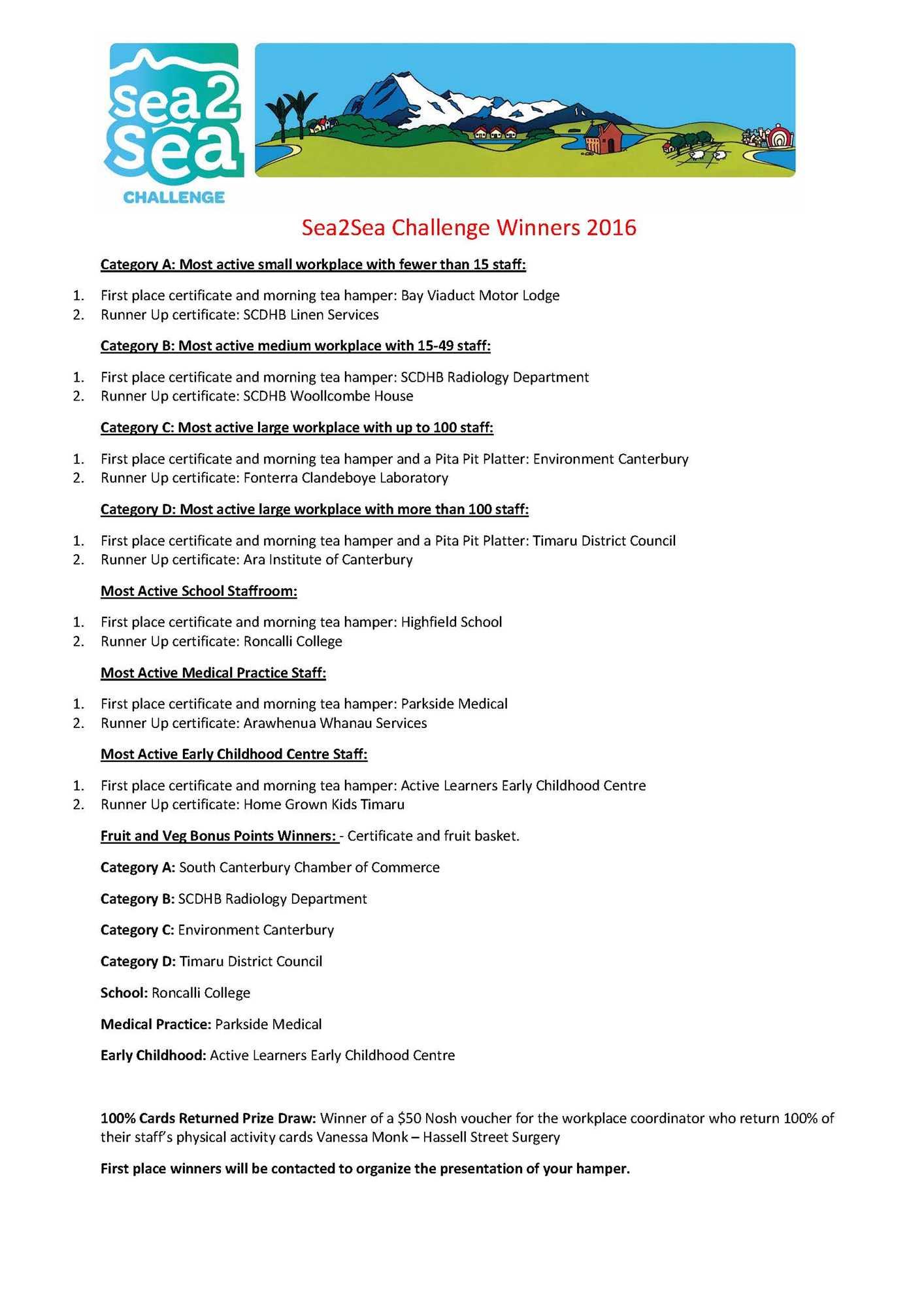 Sea2Sea Challenge - Home