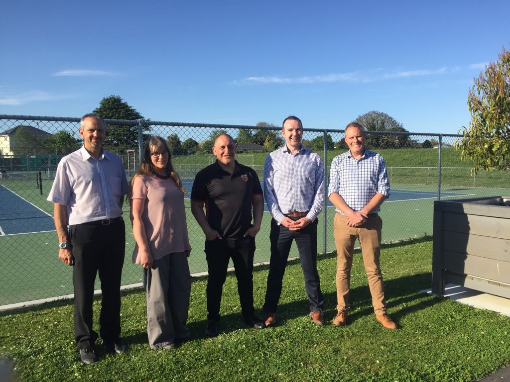 Staff involved in this sports club project from Community and Public Health, Sport Canterbury, Canterbury Cricket, Canterbury Rugby League and Tennis Canterbury.