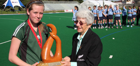 Chica Gilmer with Sam-Charlton trophy-2008