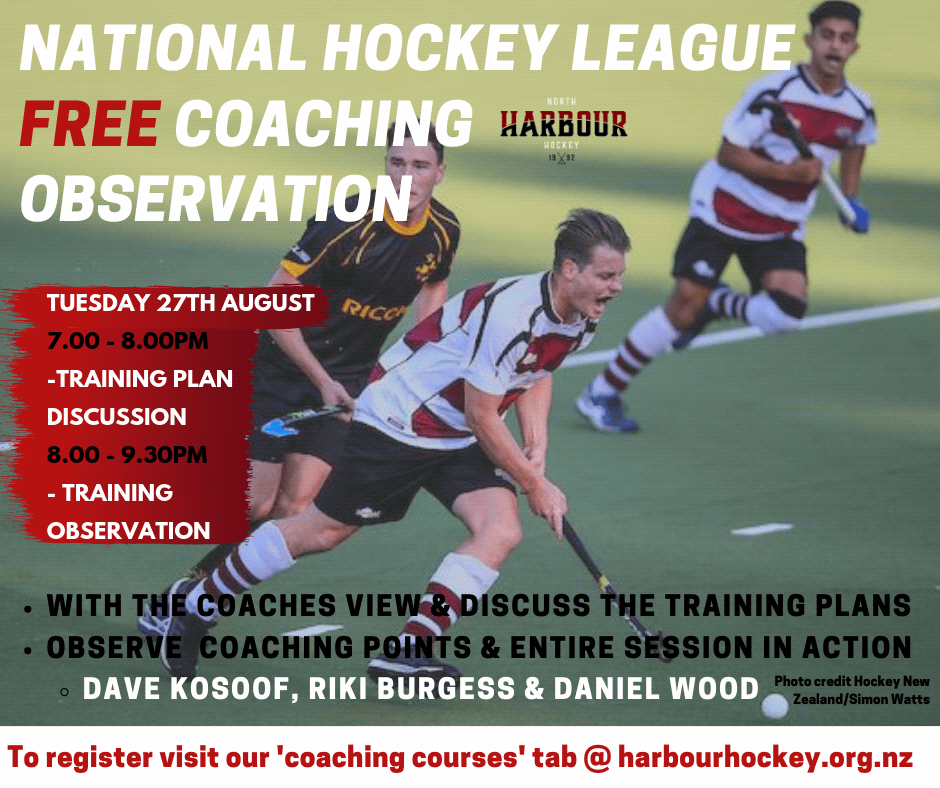 North Harbour Hockey Assn - Coaching Courses