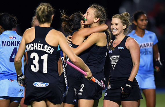 Red Hot Vantage Black Sticks Run Riot Over India In Pukekohe 16 May 17